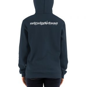 North South East West Memphis Unisex Zip Up Hoodie Sweater