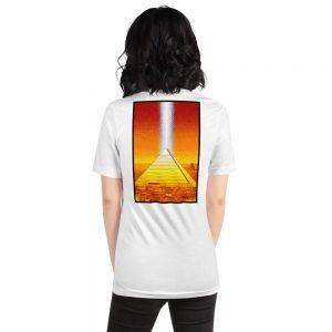 Memphis Pyramid Short-Sleeve Unisex T-Shirt by Mitchell Dunnam