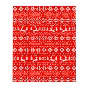 Merry Memphis Christmas Sweater Blanket