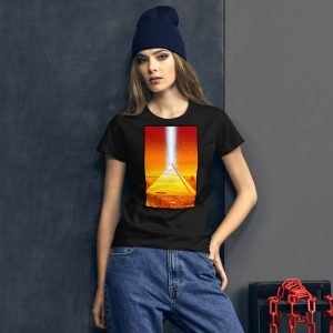 Memphis Pyramid Women's short sleeve t-shirt by Mitchell Dunnam