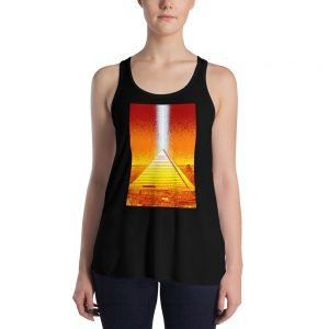 Memphis Pyramid Women's Tank by Mitchell Dunnam