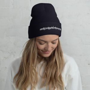 North South East West Memphis Cuffed Beanie