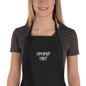 Memphis Mam Embroidered Apron