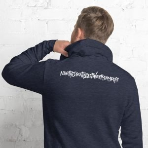 North South East West Memphis Unisex Hoodie – Back Print