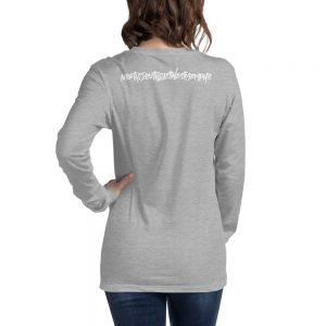 North South East West Memphis Unisex Long Sleeve Tee – Back Print