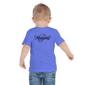Memphis Toddler Short Sleeve Tee – Back Print