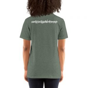 North South East West Memphis Short-Sleeve Unisex T-Shirt – Back Print