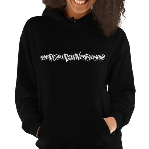 NorthSouthEastWestMemphis Unisex Hoodie North